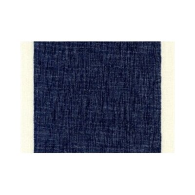 Izora Modern Outdoor Throw Pillow Color: Navy, Size: Medium