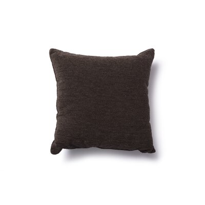 Danin Modern Outdoor Throw Pillow Color: Chocolate, Size: Large
