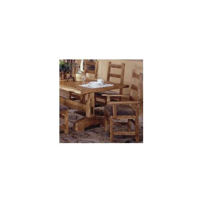 Artisan Home Furniture Lodge 100 9 Piece Casual Counter Height Dining Table Set Wp1779