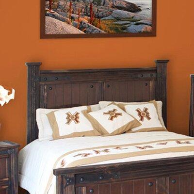 Artisan Home Furniture Cordoba 1085 Panel Headboard - Size: King, Finish: Dark Walnut Oak