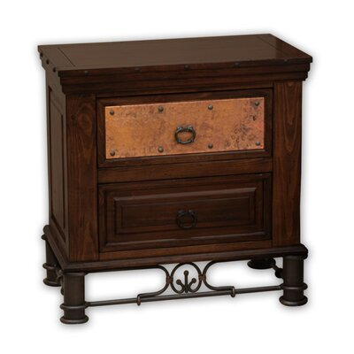 Valencia 2 Drawer Nightstand