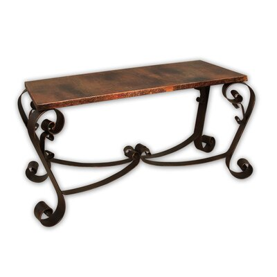 Cheap Artisan Home Furniture Mallorca Copper and Iron Sofa Table (WP1843)