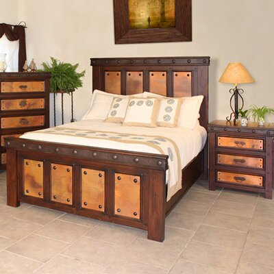 Buy Low Price Artisan Home Furniture Copper Canyon Panel Bedroom Collection Bedroom Set Mart