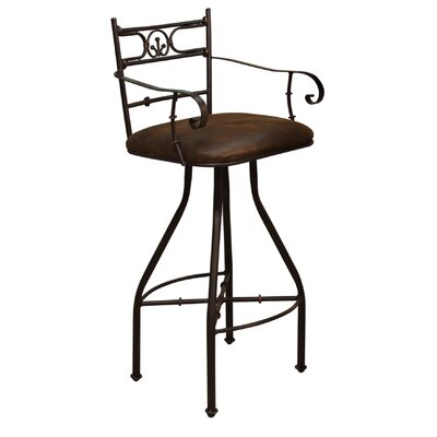 Easy financing Valencia Swivel Bar Stool with Arms...