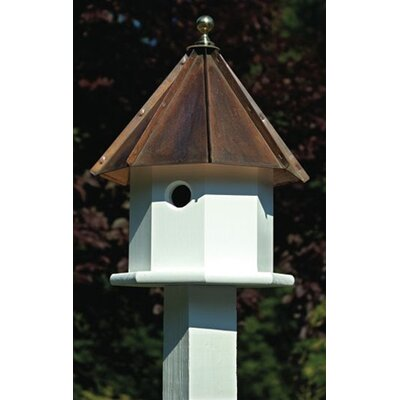 Heartwood Oct-Avian Bird House - Finish: White with Brown Copper Roof at Sears.com