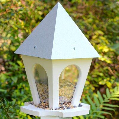 Wild Bird Bistro Hopper Bird Feeder Finish: Galvenized