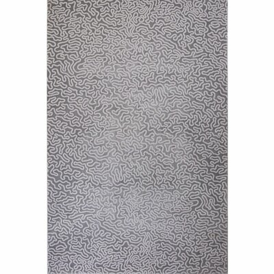 Vytla Contemporary Gray Area Rug Rug Size: 710 x  102