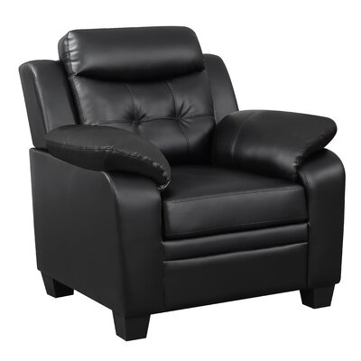 Shrutika Armchair Upholstery: Black