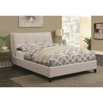 Zeitz Upholstered Panel Bed