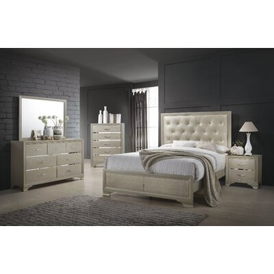 Odele Upholstered Panel Bed