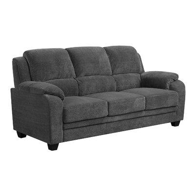 Castilleja Sofa Upholstery: Charcoal