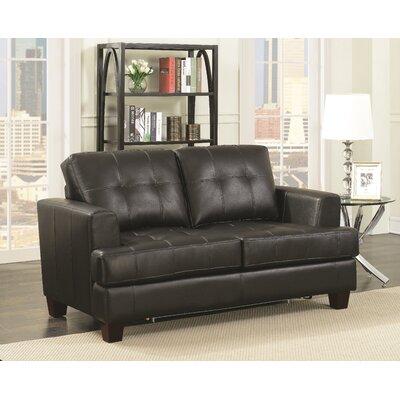 Ladner Sleeper Upholstery: Black