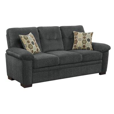 Dan Sofa Upholstery: Charcoal