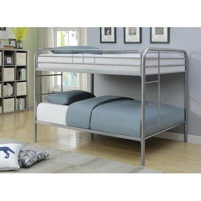 Garling Full over Full Bunk Bed Bed Frame Color: Silver