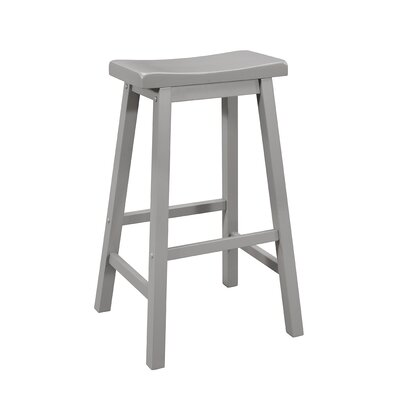 Herrick 28 Bar Stool Color: Gray