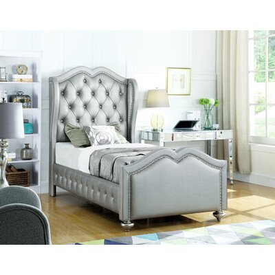 Rachelle Upholstered Panel Bed