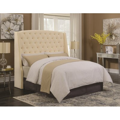 Millsboro Eastern King Upholstered Panel Bed