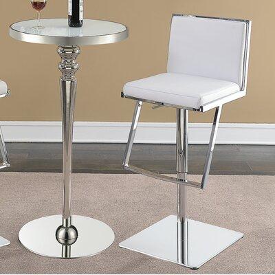 Bar Stool Upholstery: White