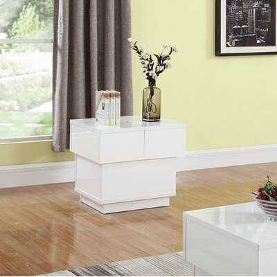 Stuti End Table with Storage
