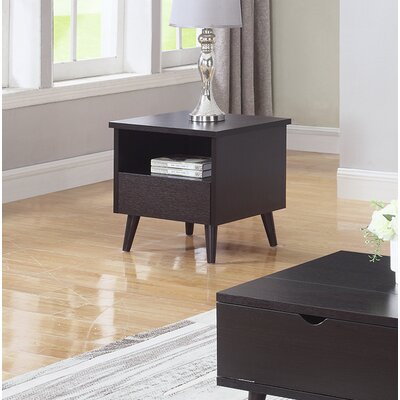 Zhang End Table with Storage