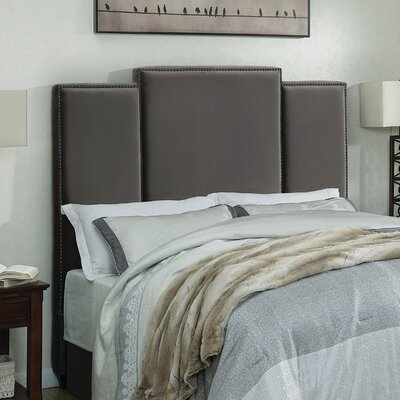 Belair Upholstered Panel Headboard Size: Queen