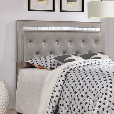 Myla King Upholstered Panel Headboard
