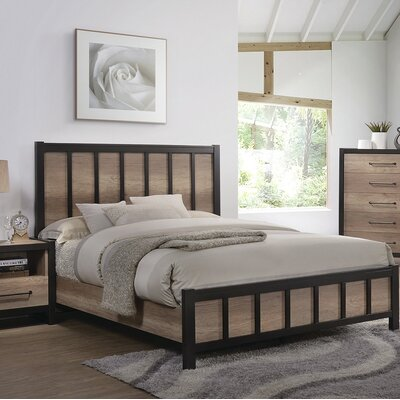Creger Panel Bed