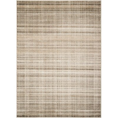 Gray Area Rug Rug Size: Rectangle 67 x 96