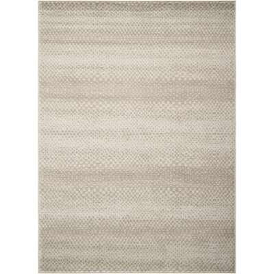 Light Blue/Gray Area Rug Rug Size: Rectangle 53 x 73