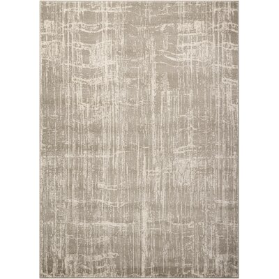 Light Gray Area Rug Rug Size: Rectangle 67 x 96