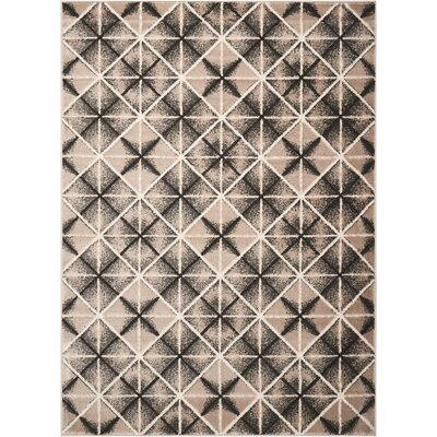 Charcoal/Light Gray Area Rug Rug Size: Rectangle 71 x 10