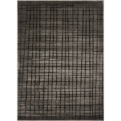 Charcoal Area Rug Rug Size: Rectangle 71 x 10