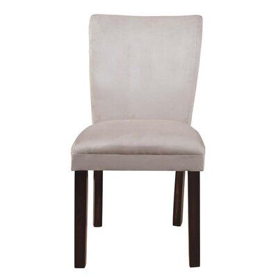 Castellanos Parson Upholstered Dining Chair Upholstery Color: Gray