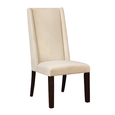 Parson Upholstered Dining Chair Upholstery Color: Barley
