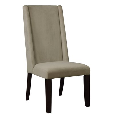 Parson Upholstered Dining Chair Upholstery Color: Granite