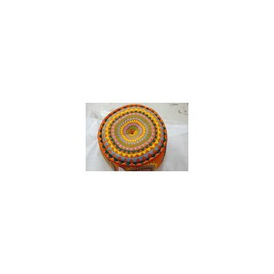 Alois Round Pouf Ottoman BGRS1704 42187631