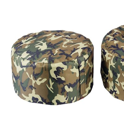Aurore Durable Camo Ottoman for Freeport Park