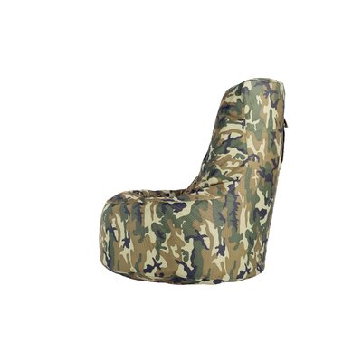 Aurore Large Durable Camo Bean Bag Chair for Freeport Park