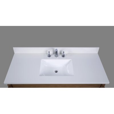 Thassos 49 Single Bathroom Vanity Top