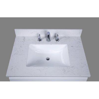 Bari 31 Single Bathroom Vanity Top