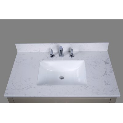 Bari 37 Single Bathroom Vanity Top