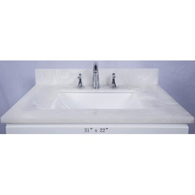 Asolo 31 Single Bathroom Vanity Top