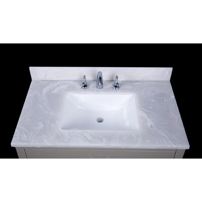 Asolo 37 Single Bathroom Vanity Top