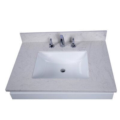 Lucca 31 Single Bathroom Vanity Top