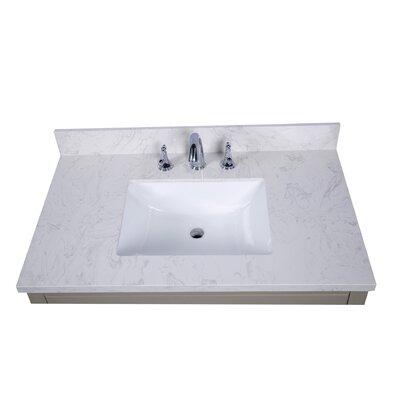 Lucca 37 Single Bathroom Vanity Top