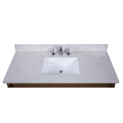 Lucca 49 Single Bathroom Vanity Top