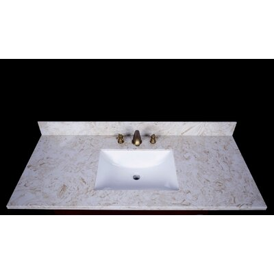 Cortona 49 Single Bathroom Vanity Top