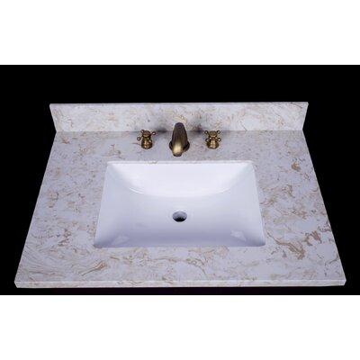 Cortona 31 Single Bathroom Vanity Top
