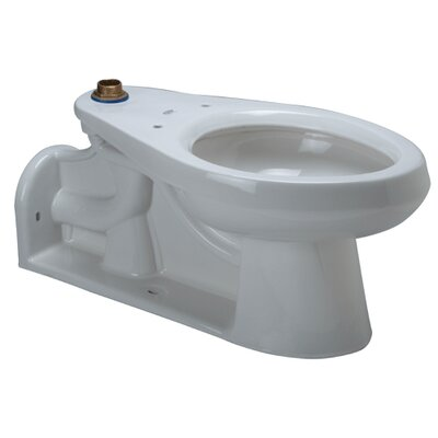 Floor Mounted 1.6 GPF Elongated Toilet Bowl