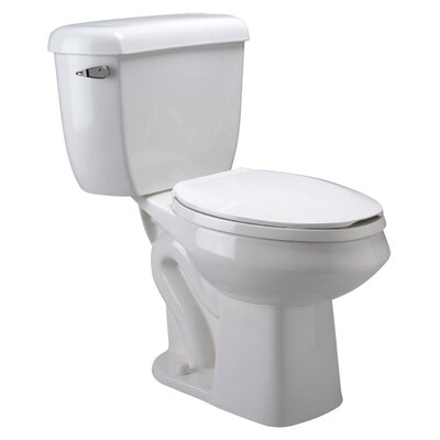 Pressure Assist Dual Flush Elongated Two-Piece Toilet